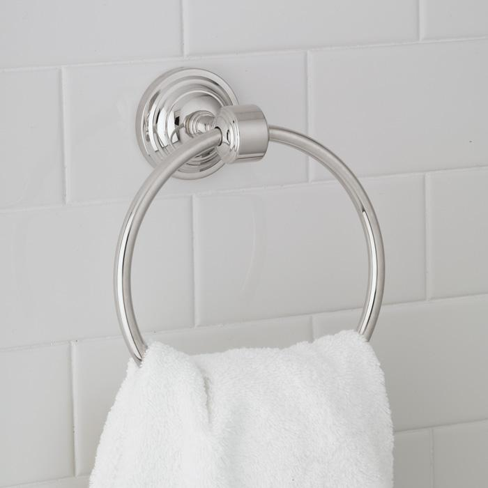 Granite City Electric in Plymouth, Massachusetts, United States, Norwell 3423-OB-TR, Emily Towel Ring, EMILY