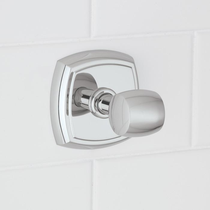 Granite City Electric in Plymouth, Massachusetts, United States, Norwell 3440-BN-RH, Soft Square Robe Hook, SOFT SQAURE