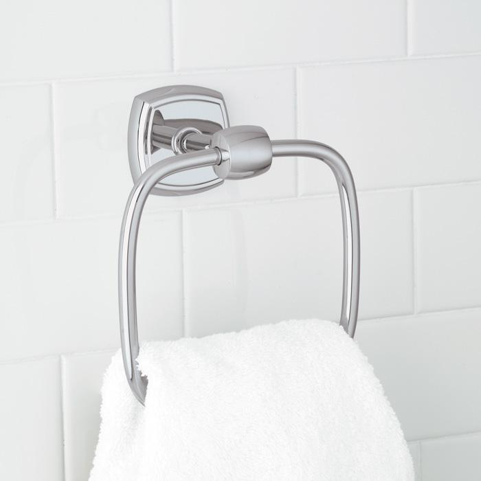 Soft Square Towel Ring