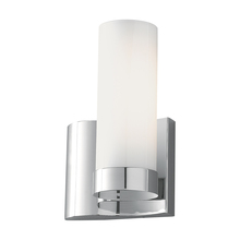 Norwell 8900-CH-SO - Wave 1 Light Left Side Sconce