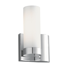 Norwell 8901-BN-SO - Wave 1 Light Right Side Sconce