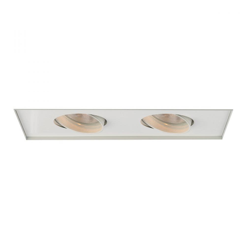 Two Light Recessed Housing