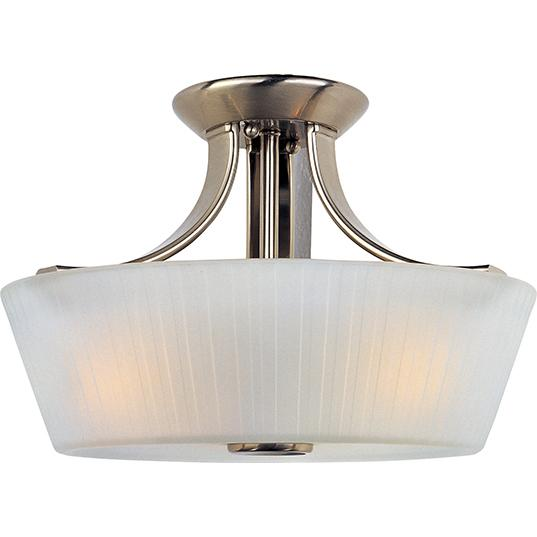 Finesse 3-Light Semi-Flush Mount