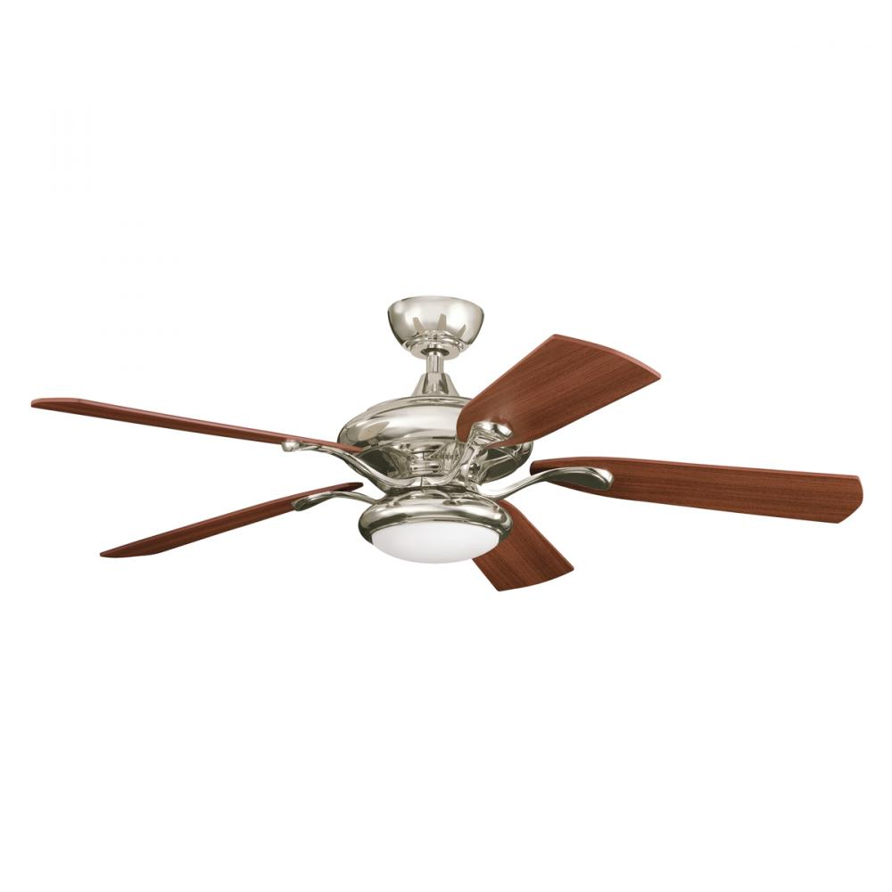 Granite City Electric in Plymouth, Massachusetts, United States, Kichler 300014PN, Polished Nickel Ceiling Fan, Aldrin