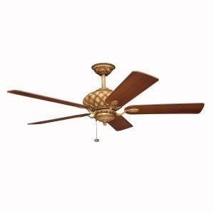 Granite City Electric in Plymouth, Massachusetts, United States, Kichler 300109CTO, Canyon Stone Ceiling Fan, LaSalle