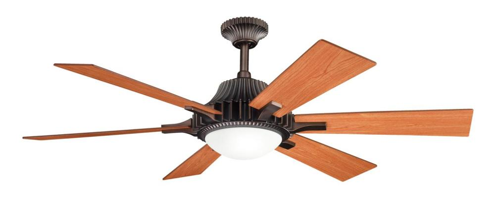 Three Light Oil Brushed Bronze Ceiling Fan
