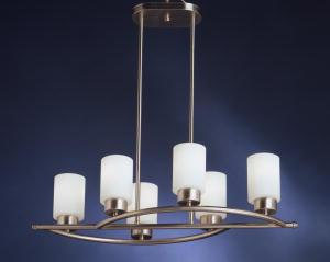 Linear Chandelier 6Lt