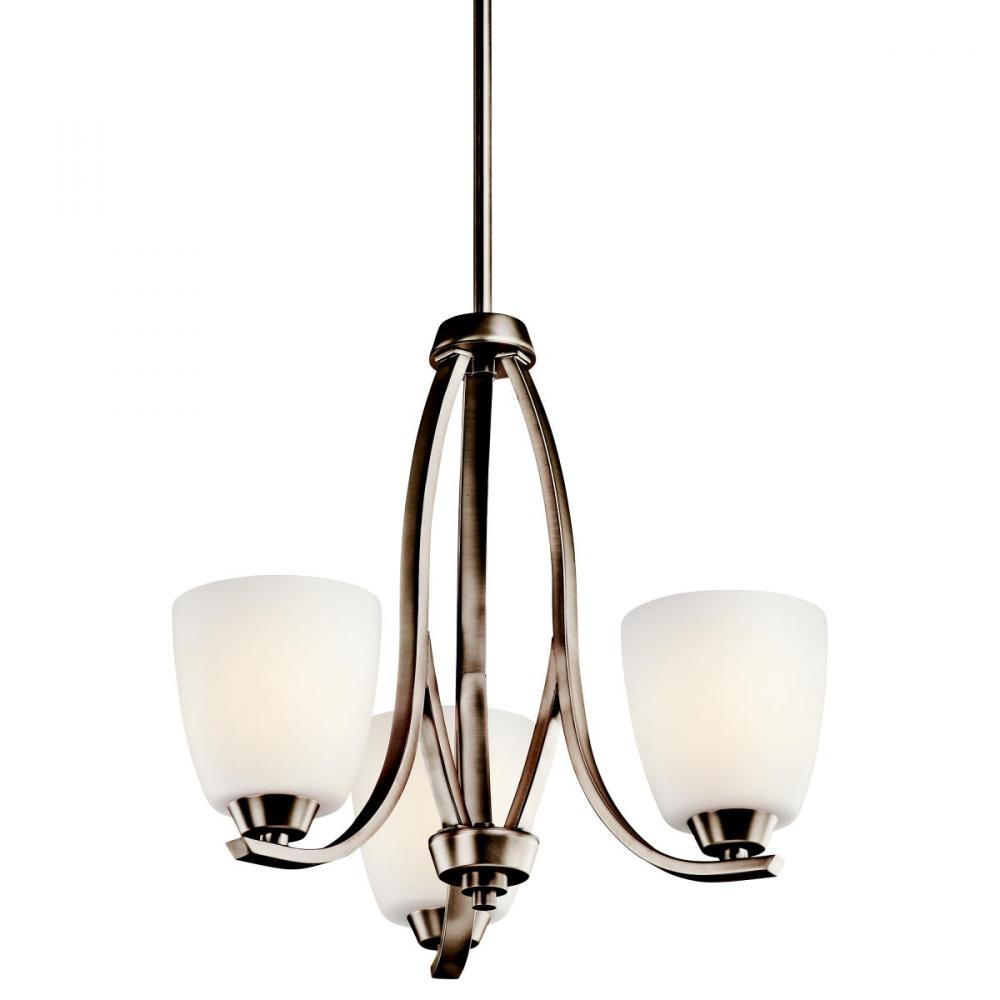 Granite City Electric in Plymouth, Massachusetts, United States, Kichler 42556BPT, Chandelier 3Lt, Granby