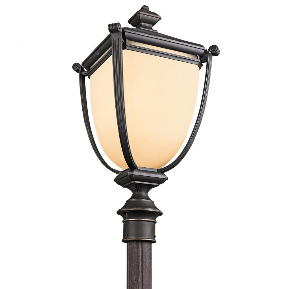 One Light Post Mount