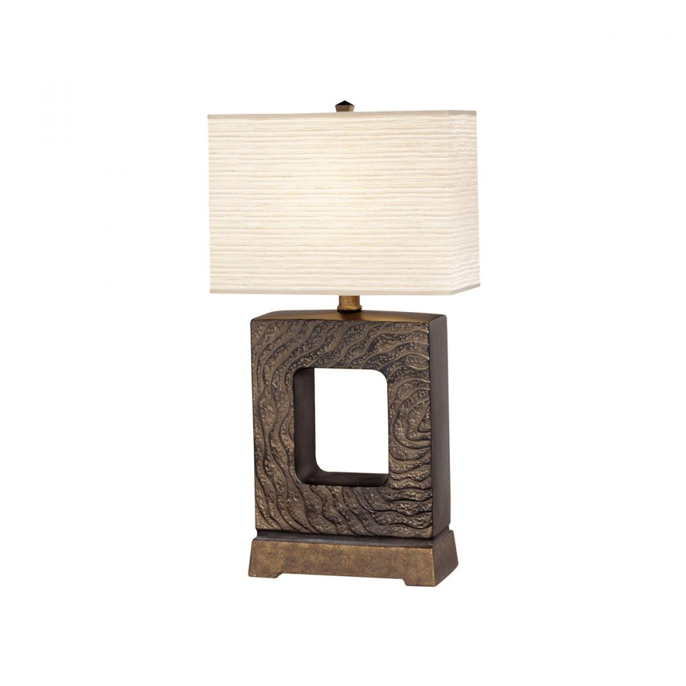 One Light Pottery Table Lamp