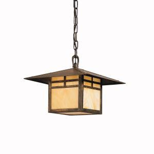 One Light Canyon View Hanging Lantern