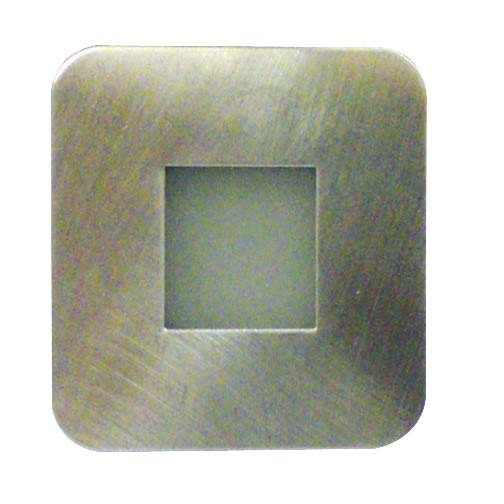 LED Individual Square, Plug In Base, White