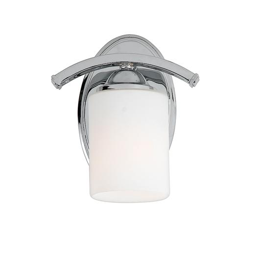 Granite City Electric in Plymouth, Massachusetts, United States, Quoizel EI8601C, One Light Chrome Bathroom Sconce, Ellis