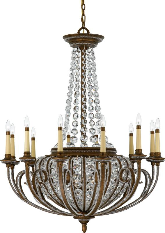 Eighteen Light Crystal - Clear Up Chandelier