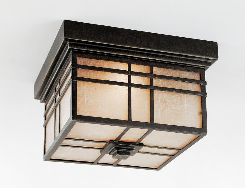 Granite City Electric in Plymouth, Massachusetts, United States, Quoizel HC1612IB, Hillcrest Outdoor Lantern, Hillcrest