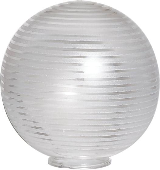 "10""  Twist Lock Globe, Stripe Pattern"