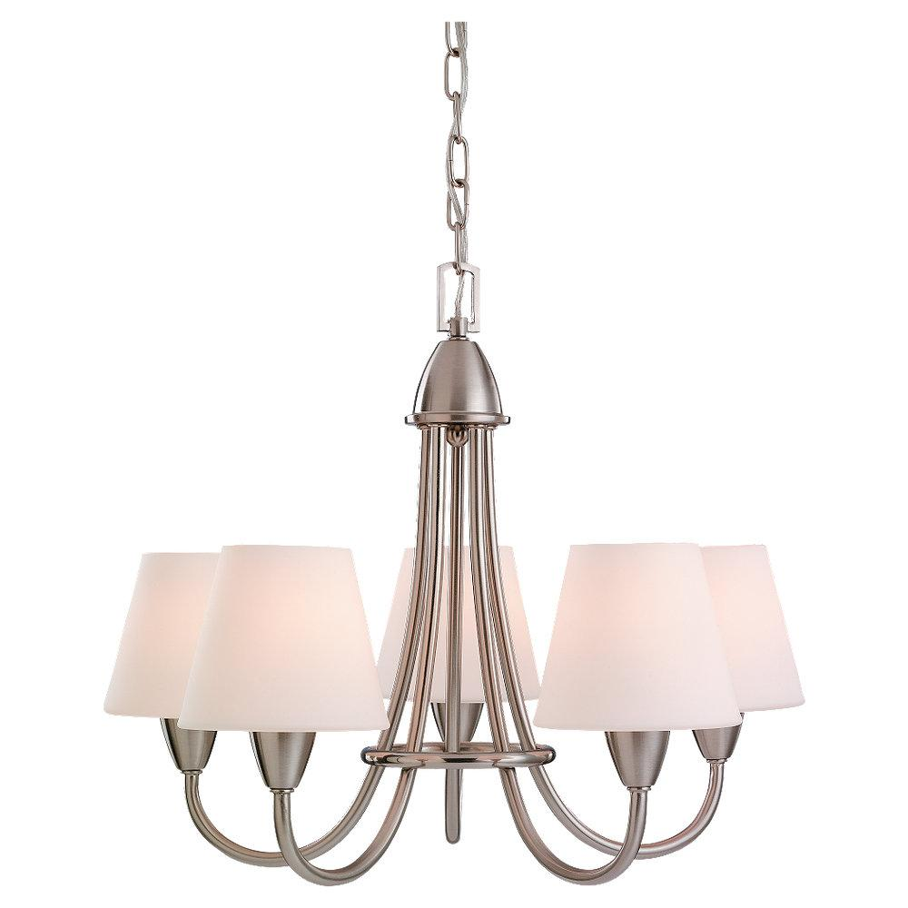 Nickel Up Chandelier