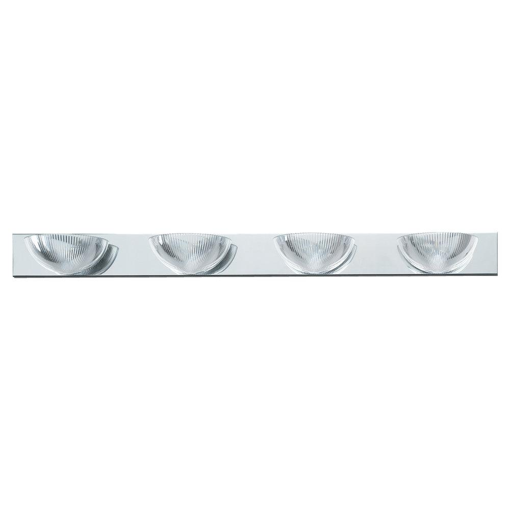 Four Light Chrome Vanity