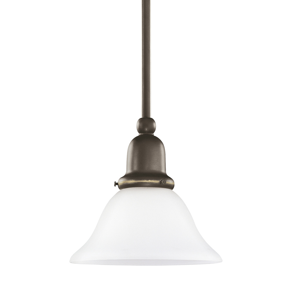 Granite City Electric in Plymouth, Massachusetts, United States, Sea Gull 61060-782, One Light Mini-Pendant, Sussex