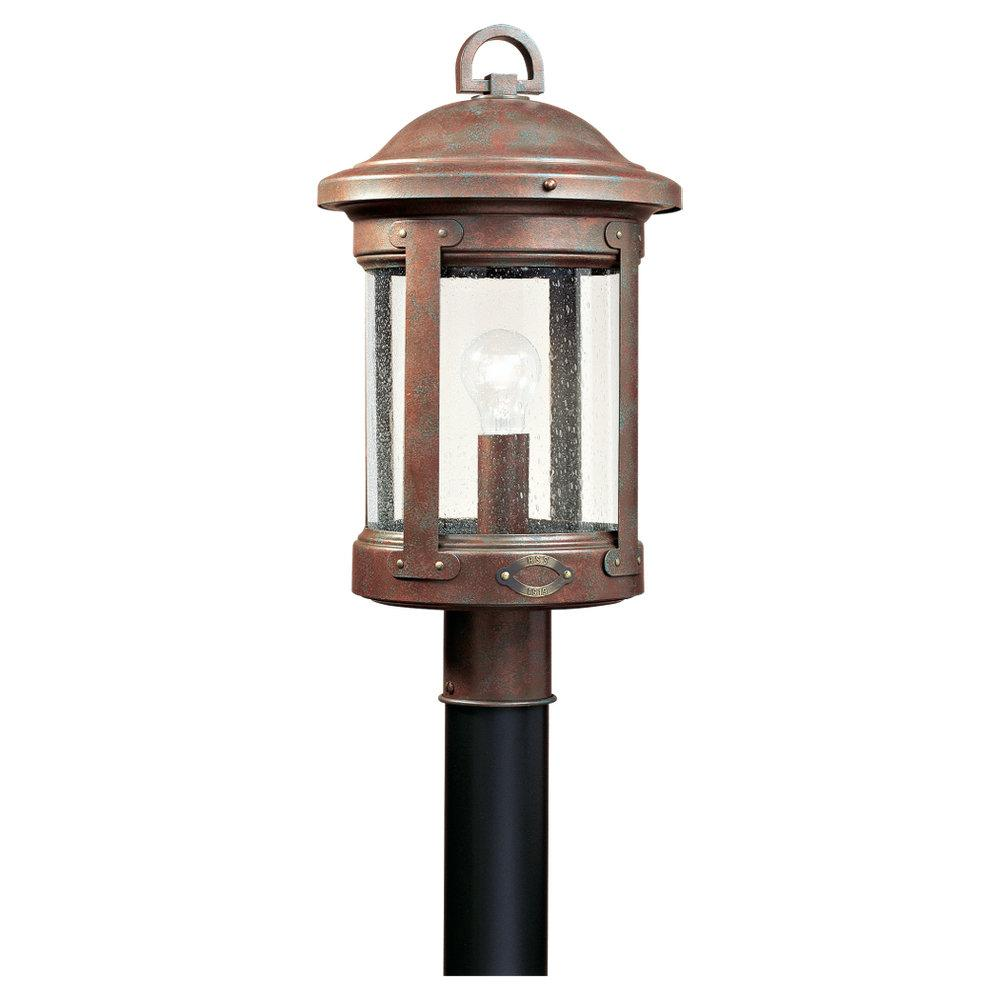 Single-Light HSS CO-OP Outdoor Post Lantern