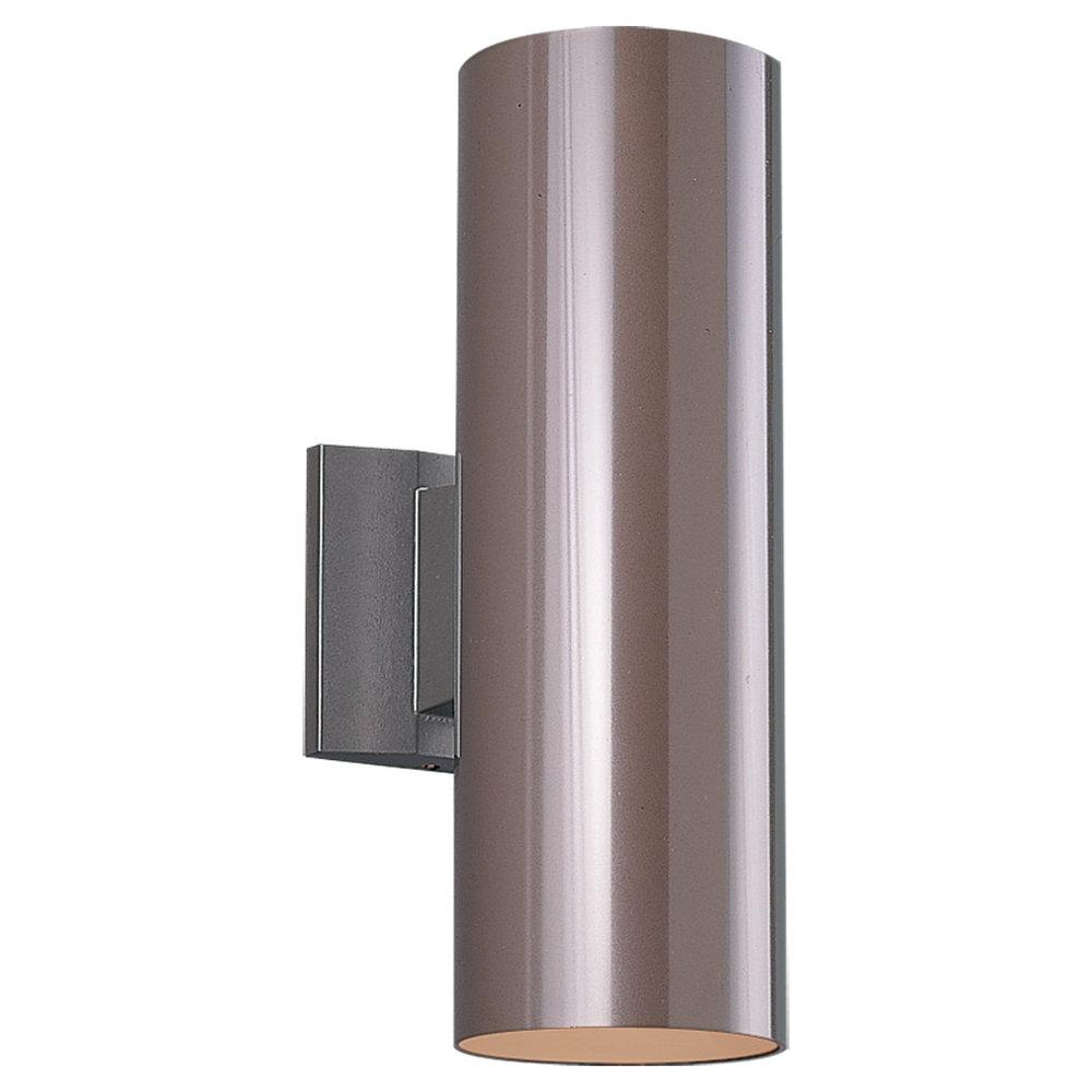 Two-Light Outdoor Wall Cylinder