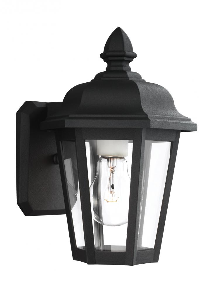 Single-Light Bancroft Black Wall Lantern