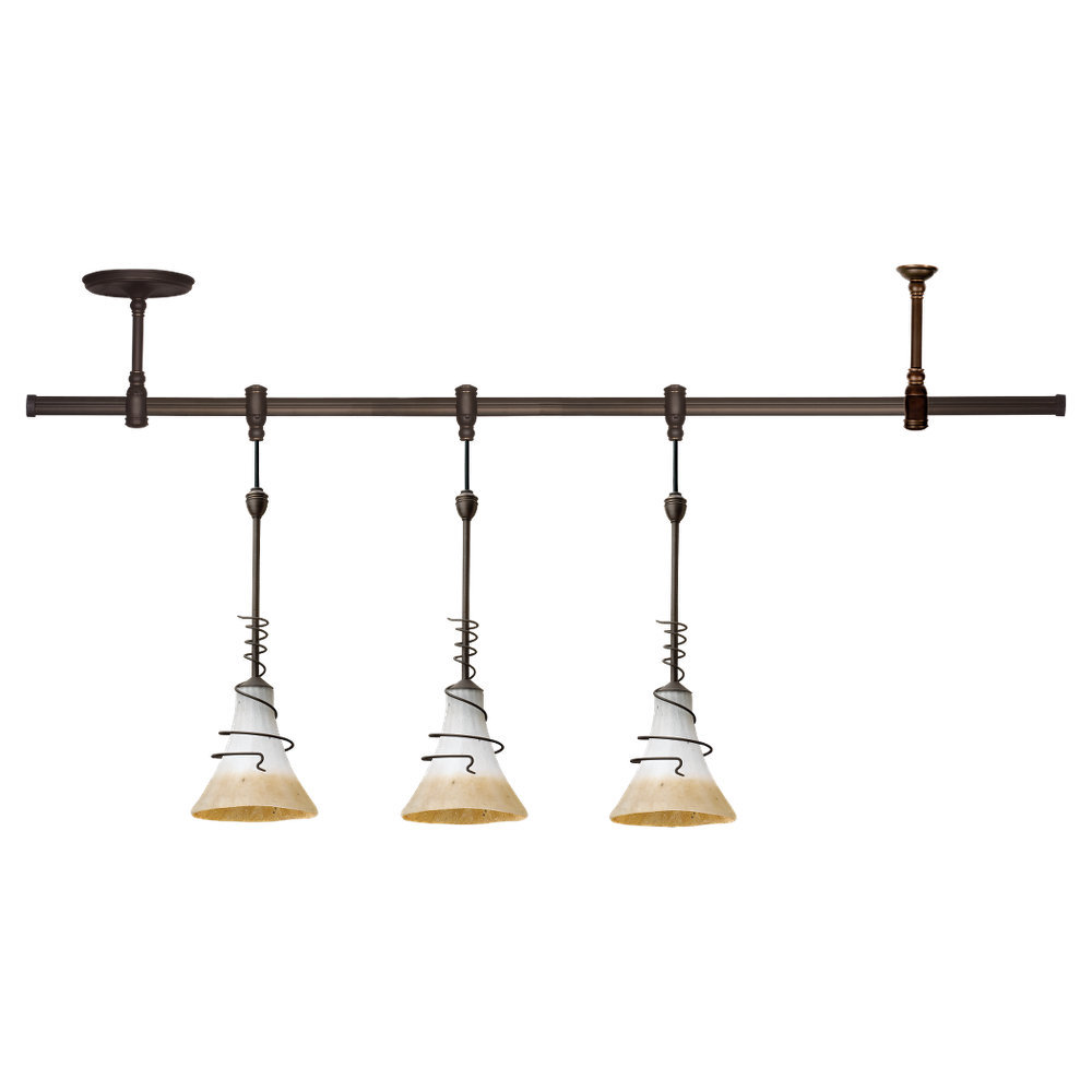 Granite City Electric in Plymouth, Massachusetts, United States, Sea Gull 94512-71, Three Light Bronze Track Kit, Pendant Kits