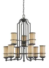 Sea Gull 31522-845 - Nine Light Chandelier