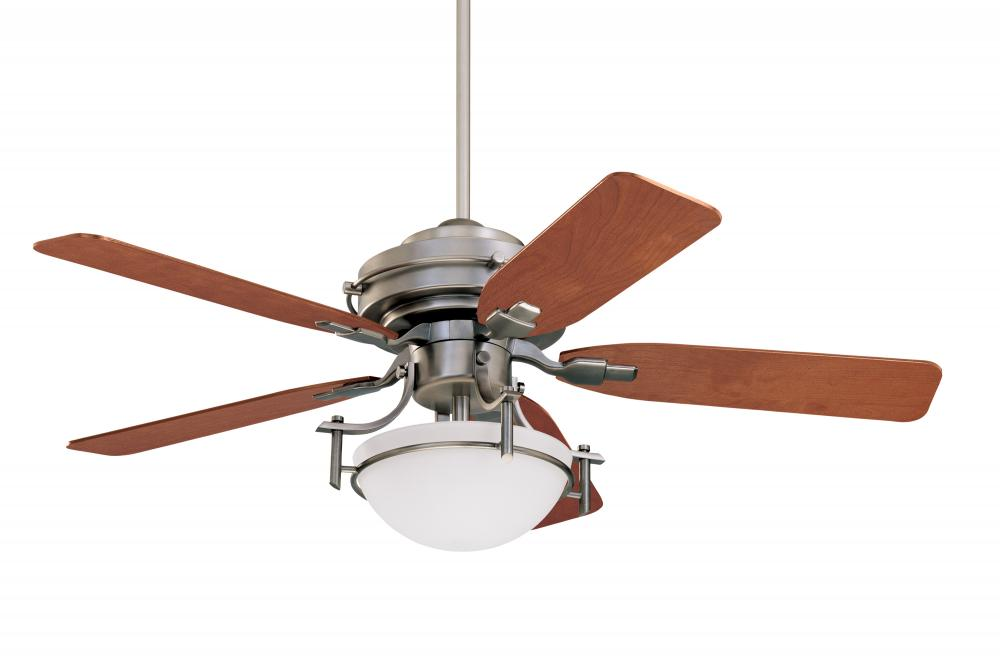 Three Light Antique Pewter Finish Ceiling Fan