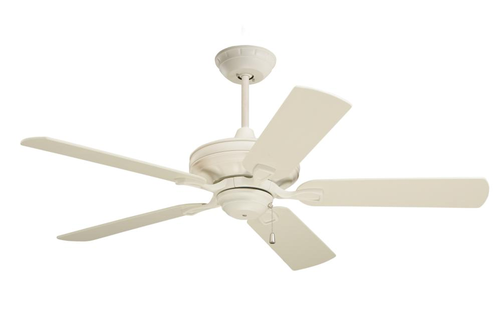 Granite City Electric in Plymouth, Massachusetts, United States, Emerson Fans CF452AW, Summer White Ceiling Fan, Bella