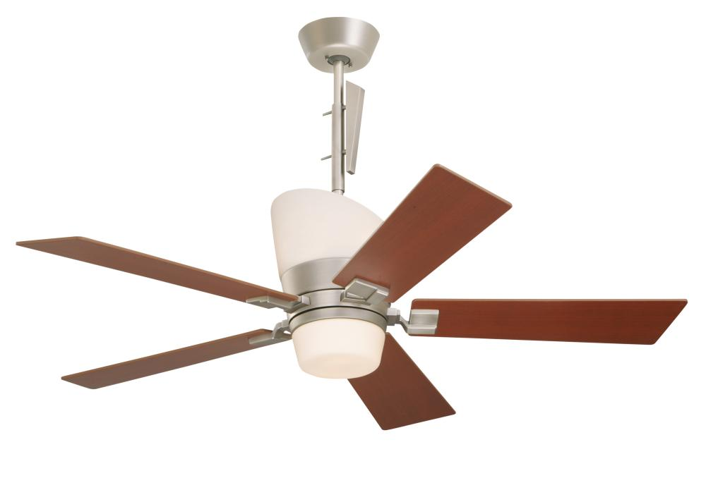 Four Light Pewter Finish Ceiling Fan