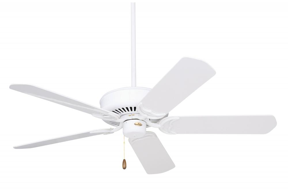 Granite City Electric in Plymouth, Massachusetts, United States, Emerson Fans CF755WW, Appliance White Ceiling Fan, Designer