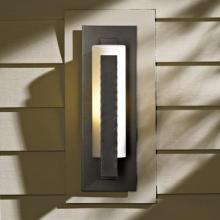Hubbardton Forge 307285-SKT-10-GG0066 - Forged Vertical Bars Small Outdoor Sconce