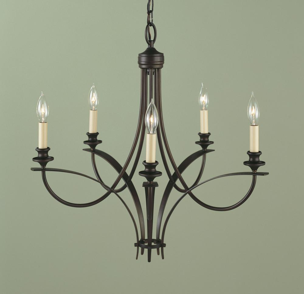 5- Light Chandelier