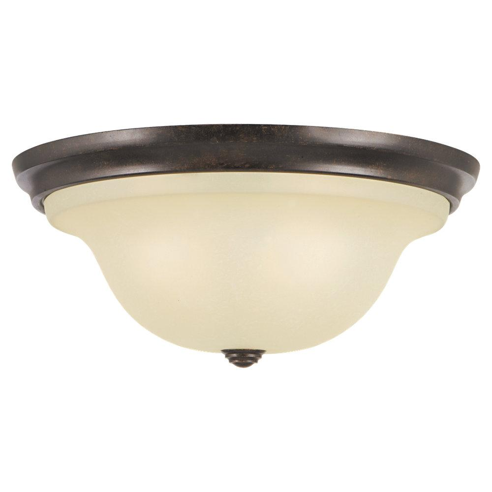Granite City Electric in Plymouth, Massachusetts, United States, Feiss FM252GBZ, Three Light Grecian Bronze Cream Snow Glass Bowl Flush Mount, Vista