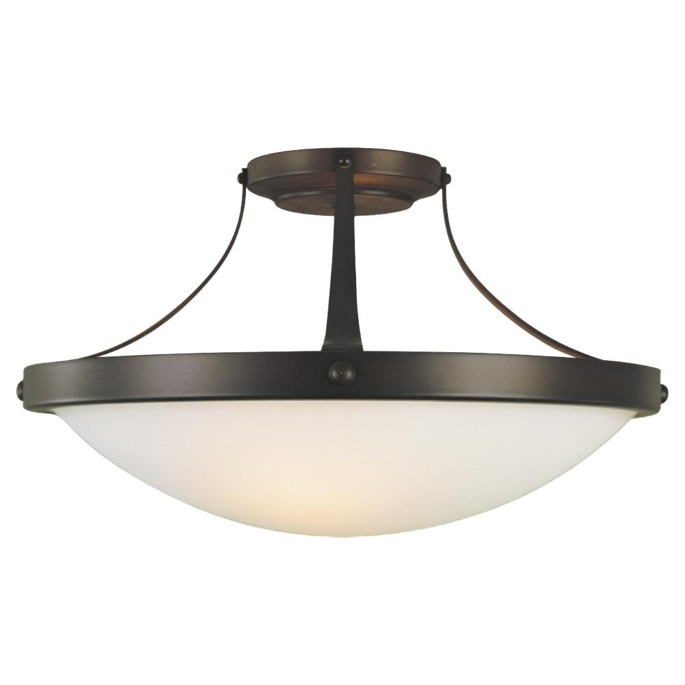 2- Light Indoor Semi-Flush Mount