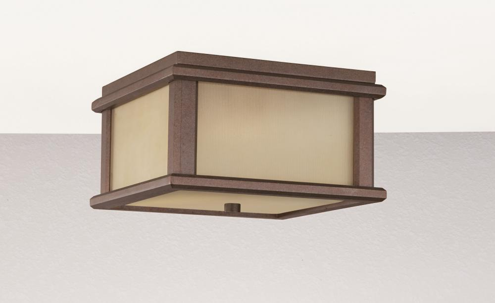 2- Light Ceiling Fixture