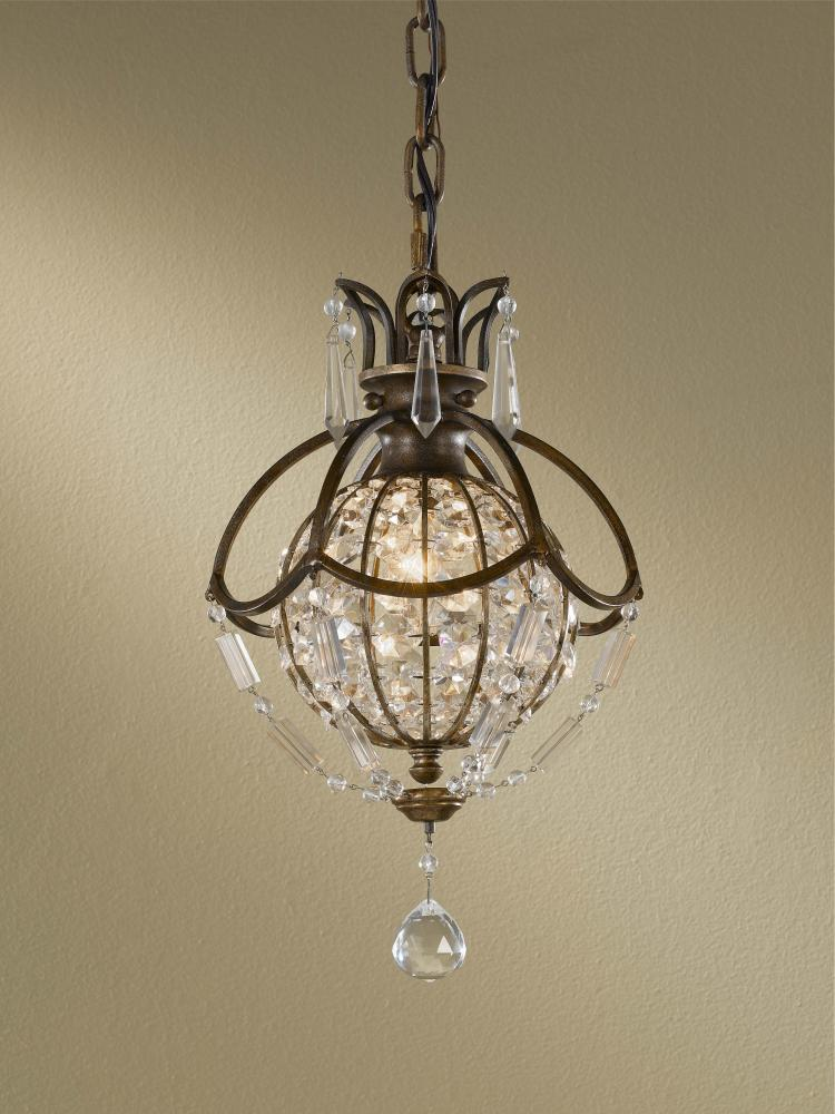 Granite City Electric in Plymouth, Massachusetts, United States, Feiss P1178OBZ/BRB, 1- Light Mini Pendants, Bellini