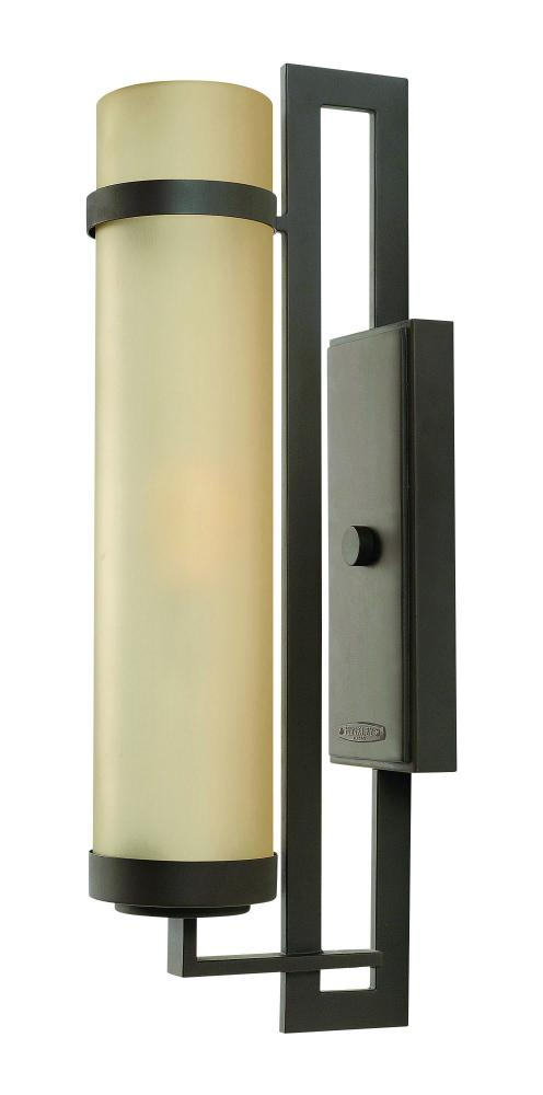 One Light Buckeye Bronze Outdoor Wall Light